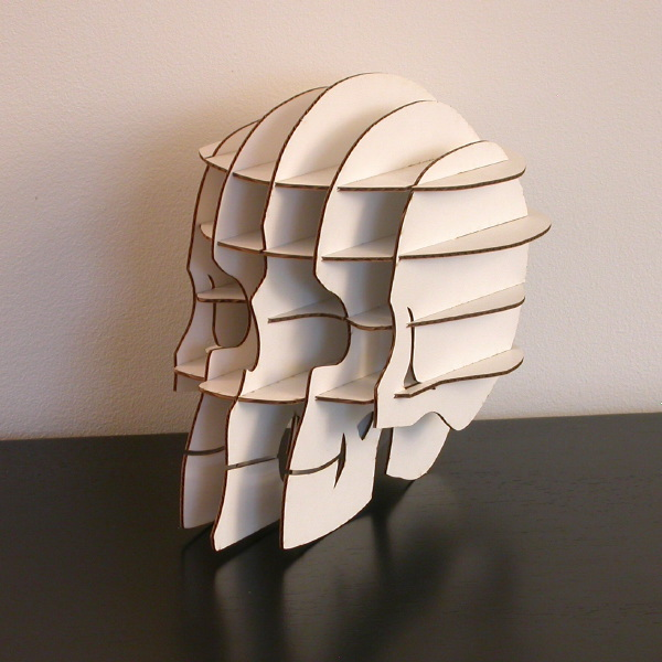 Five Incredible Skulls Made From Recycled Materials