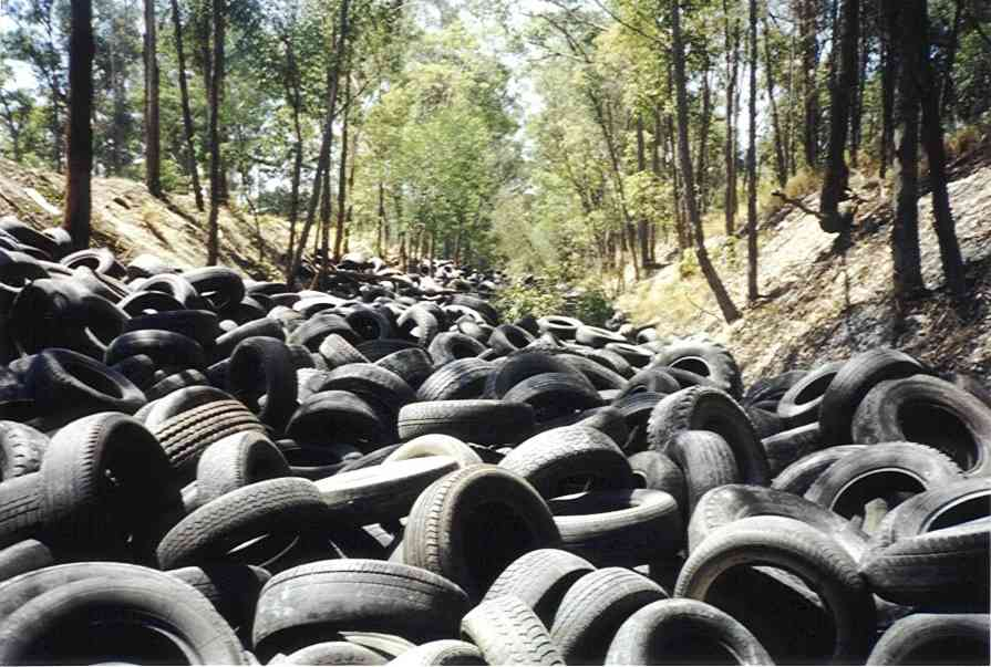 Seas Of Rubber The Truth About Tire Recycling Recyclenation