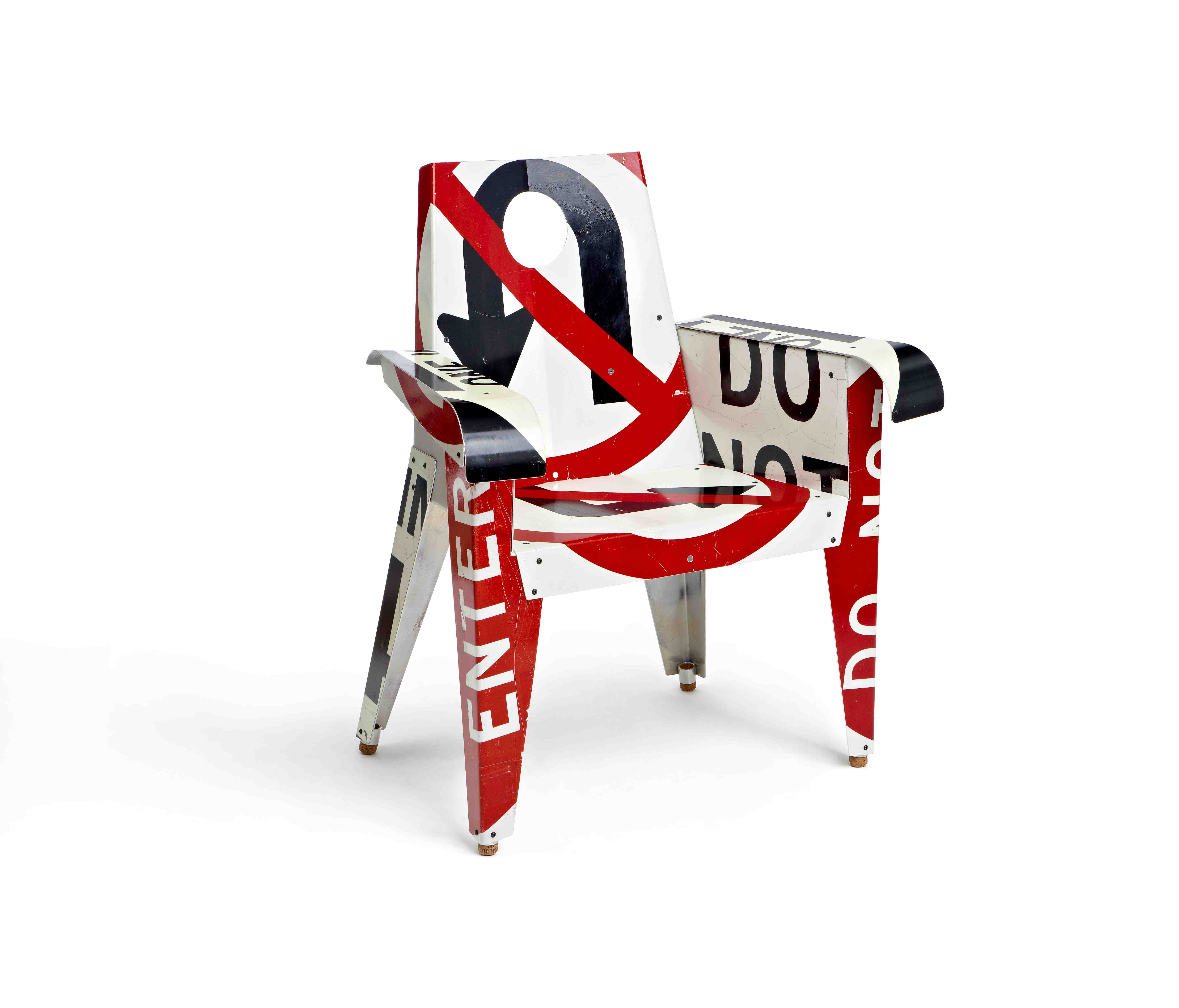 Designer Furniture Created From Abandoned Street Signs RecycleNation - Road sign furniture