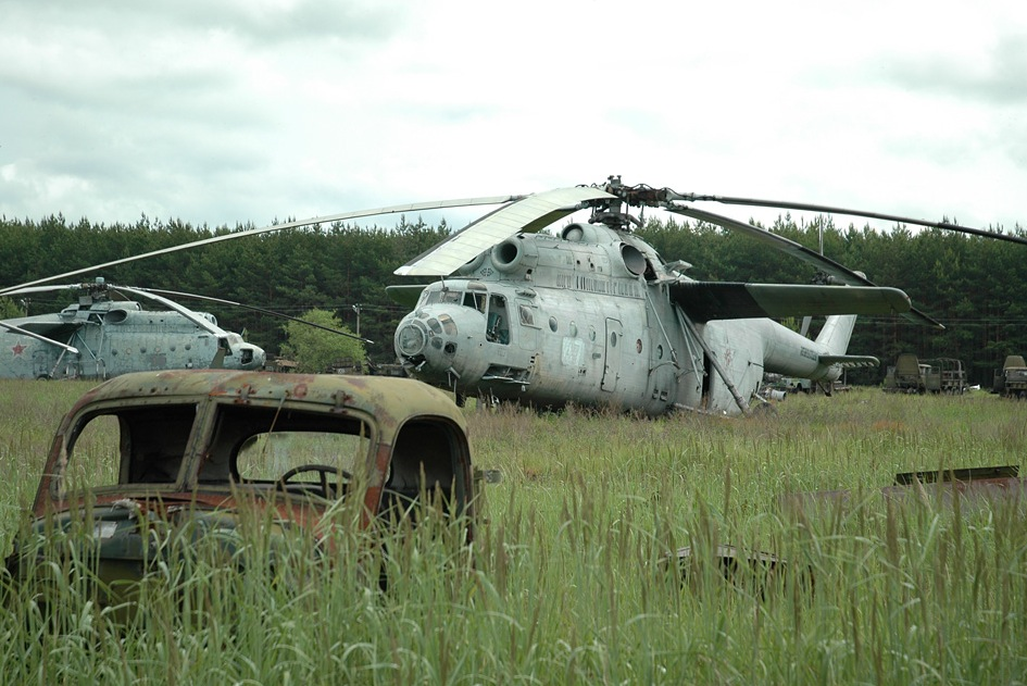 chernobyl helicopter graveyard with Chernobyl Radioactive Scrapyard on When Will The World End besides Radioactive Scrap Yard also Abandoned Helicopters Rotorcraft Graveyards besides Viewtopic in addition Tattoos 48168.