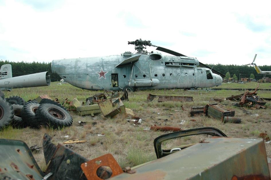Chernobyl\'s Radioactive Scrapyard | RecycleNation