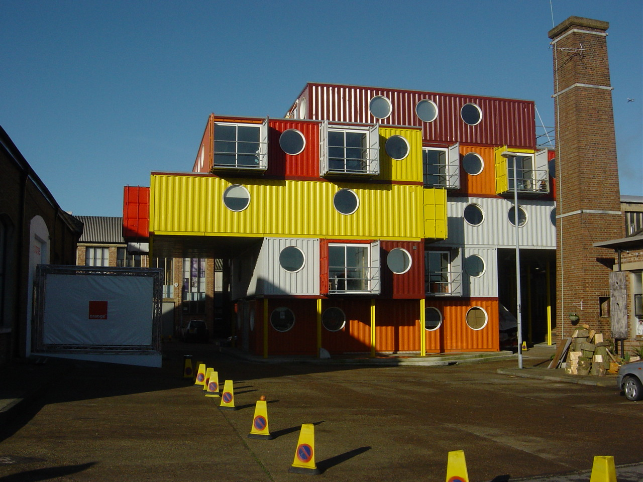 10container Ten Recycled Shipping Container Buildings