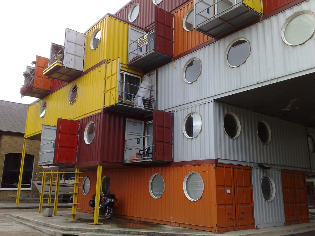 Ten recycled shipping container buildings recyclenation - Container homes london ...