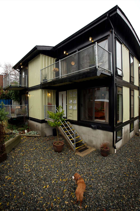 Tiny Home Designs: Ten Recycled Shipping Container Buildings
