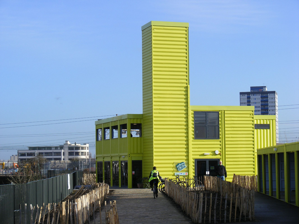 7view Ten Recycled Shipping Container Buildings