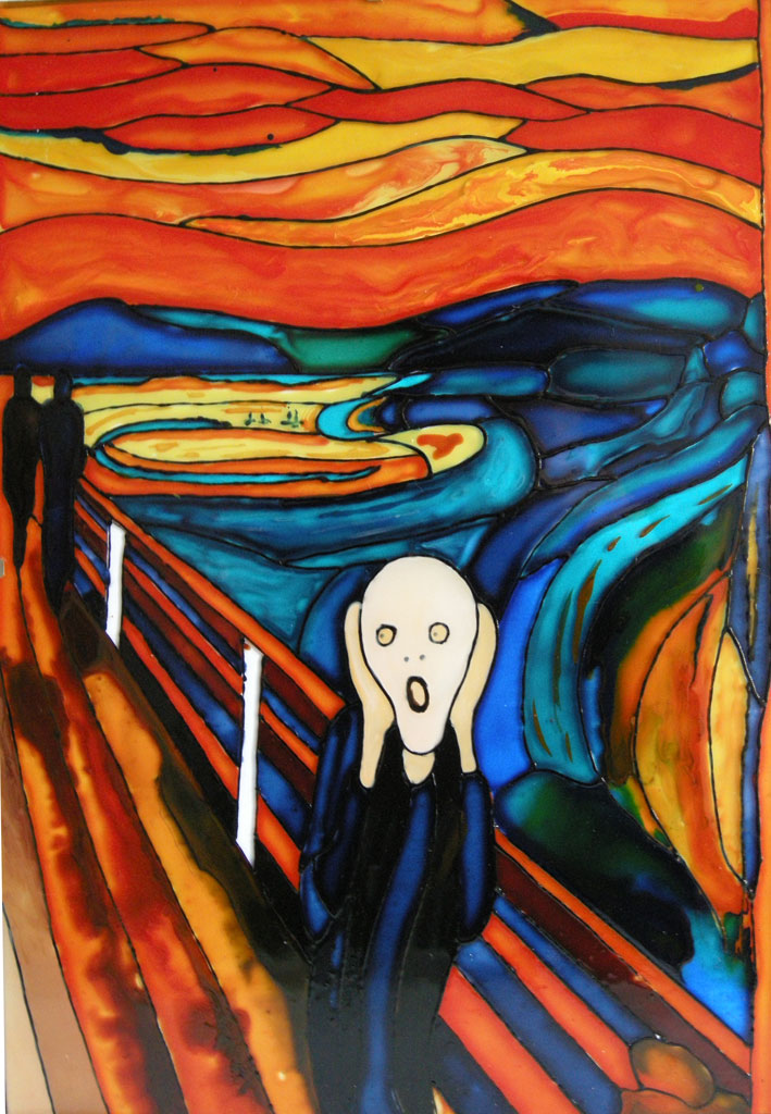 a description of the mystery of figures in the painting the scream Experience the aesthetic beauty of the dutch painting, 'girl with a pearl earring'  description, figures of the painting really is, and the mystery continues.