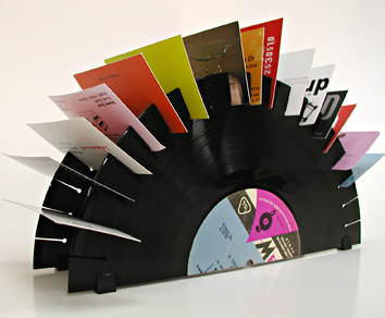 vinylcard Ten Most Creative Uses for Old Vinyl Records