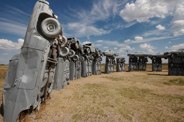 1b carhenge2 Seven Stonehenges Made from Recycled Materials