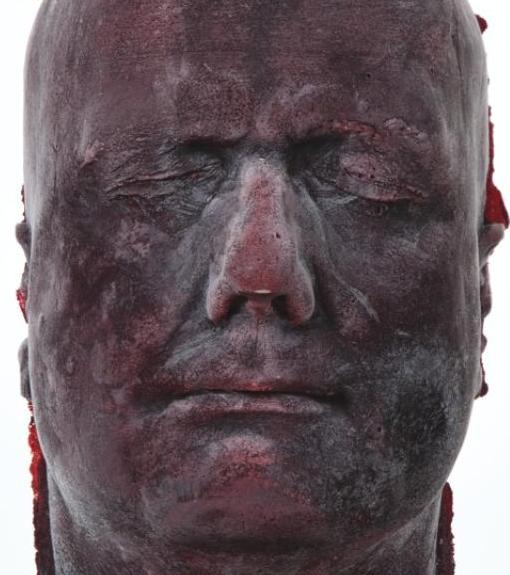 Sculptures Made from Recycled Human Blood