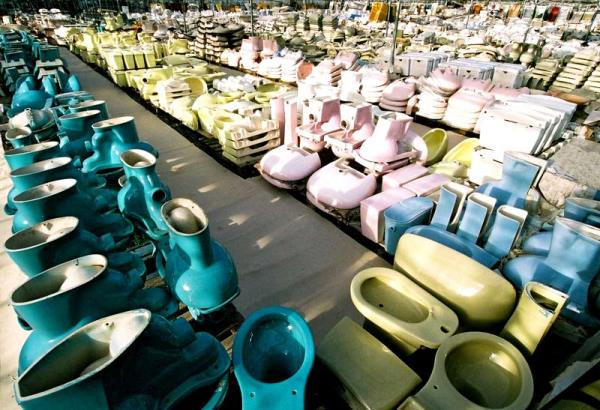 the largest toilet recycling yard on earth | recyclenation