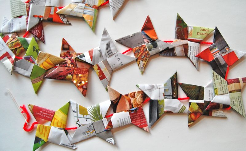 Creative Ways To Reuse Holiday Mailers And Catalogs