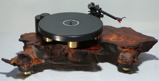 Seven Retro Turntables Carved Out Of Reclaimed Wood