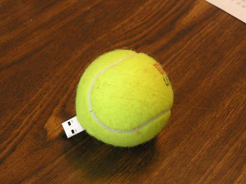 Ten recycled usb flash drive mods recyclenation - Can tennis balls be recycled ...