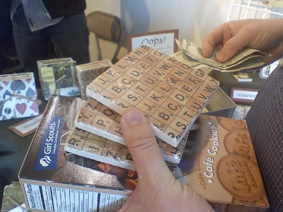 coasters Ten Creative Ways to Recycle Scrabble Tiles
