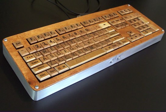 keyboard Ten Creative Ways to Recycle Scrabble Tiles