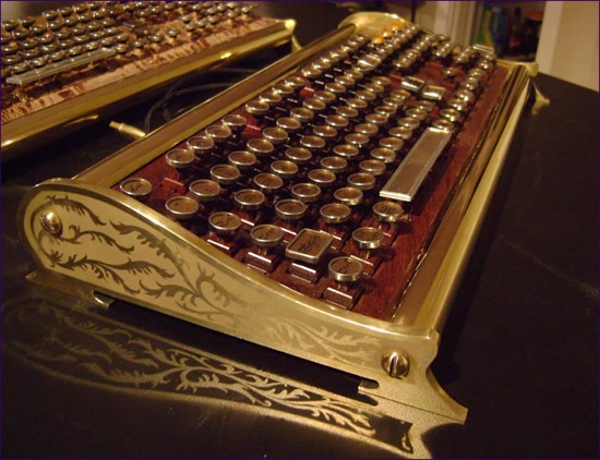 Ten Recycled Steampunk Keyboards Recyclenation