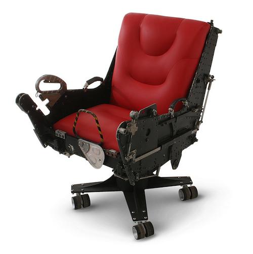 warplanes transformed into office furniture recyclenation