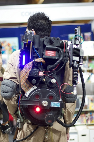 Ten Incredible DIY Ghostbusters Packs | RecycleNation