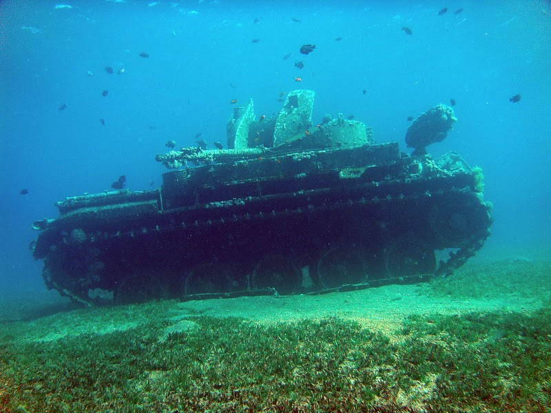 Sunken Cars Made from sunken vehicles