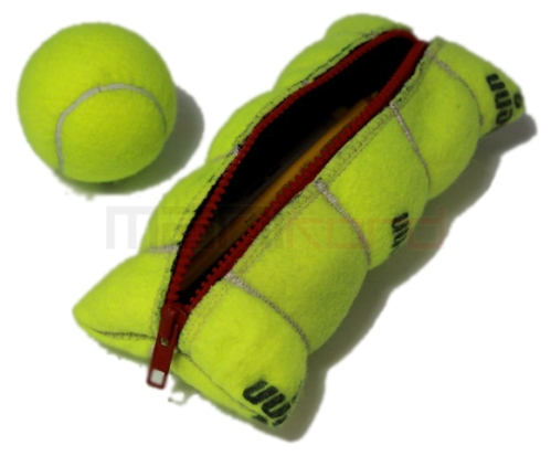 4 Pencilpouch3 Ten Creative New Uses for Old Tennis Balls