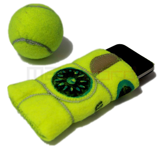 5 iPhonesleeve2 v2 Ten Creative New Uses for Old Tennis Balls