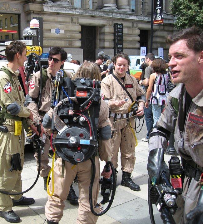 Image Jay Bergesen  sc 1 st  RecycleNation & Ten Incredible DIY Ghostbusters Packs | RecycleNation