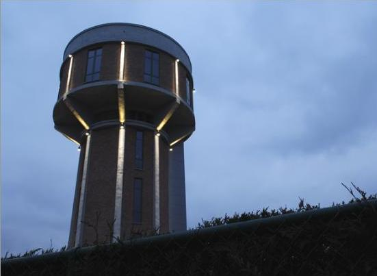 bham 2 Seven Water Towers Transformed into Houses