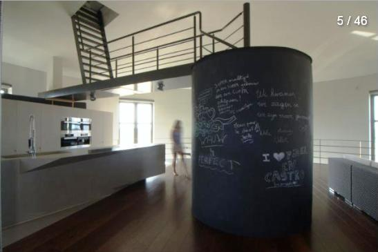 bham inside Seven Water Towers Transformed into Houses