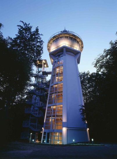 essen Seven Water Towers Transformed into Houses