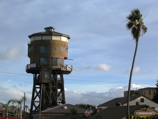 huntington beach ca Seven Water Towers Transformed into Houses