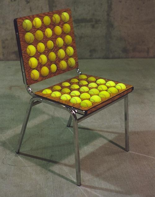 Tennis ball office chair