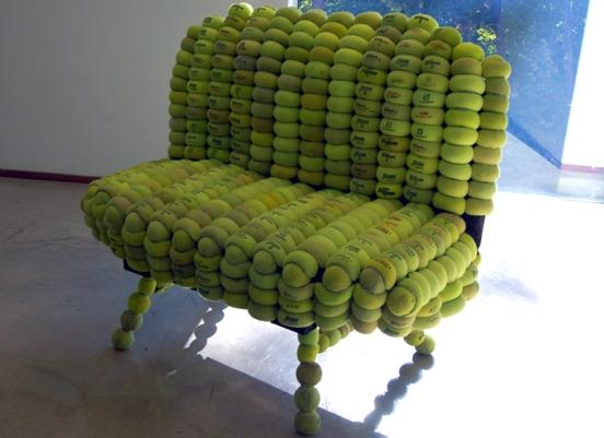 Merveilleux Tennis Ball Loveseat