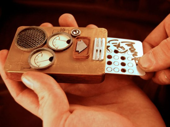 1 schmitt card Ten Incredible Steampunk Cell Phones