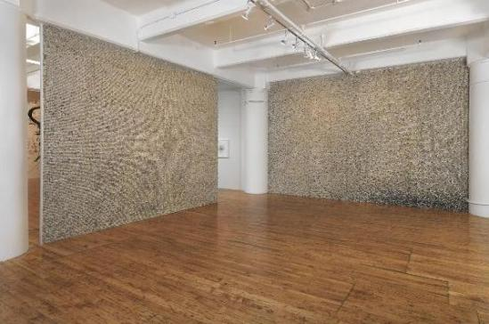 5 both Giant Walls Made from Thousands of Old Keyboard Keys