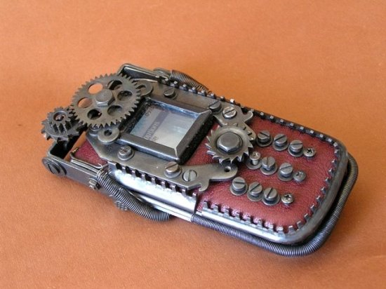 7 M47 Ten Incredible Steampunk Cell Phones