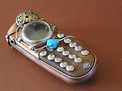 8 stp mob 1 Ten Incredible Steampunk Cell Phones