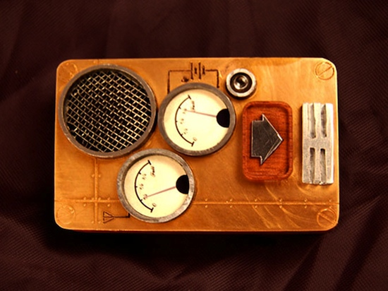 SteamPunch Phone Ten Incredible Steampunk Cell Phones
