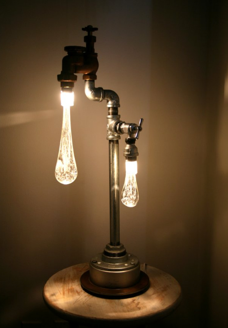 When Old Taps Drip Liquid Light Recyclenation