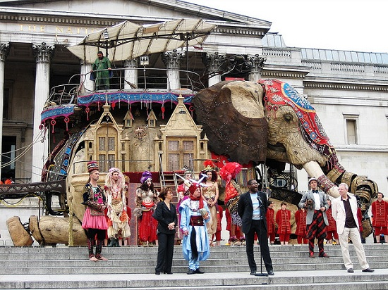 E13 The 45 Ton Mechanical Elephant That Thundered Through the Streets of London