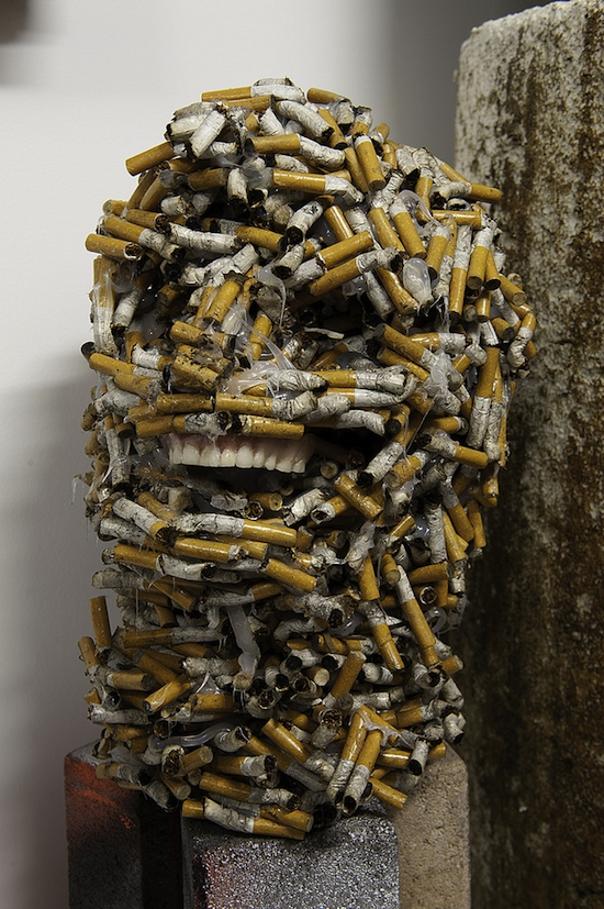 Iraqi Burns1 Seven Incredible Cigarette Art Pieces Portraying People and Animals