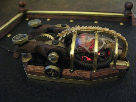 Mouse1 Ten Incredible Steampunk Computer Mouse Mods