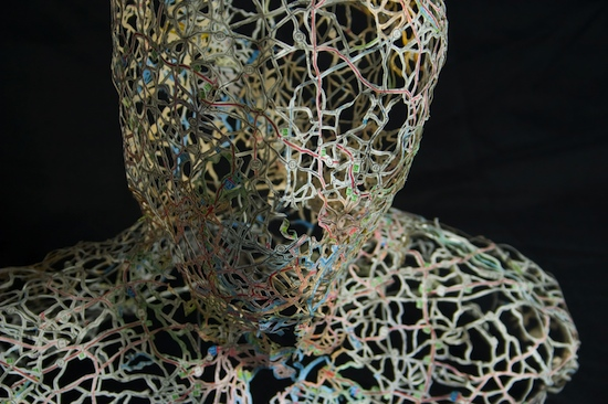 TwoBostons Detail2 Dissected Street Maps Transformed into Human Bodies