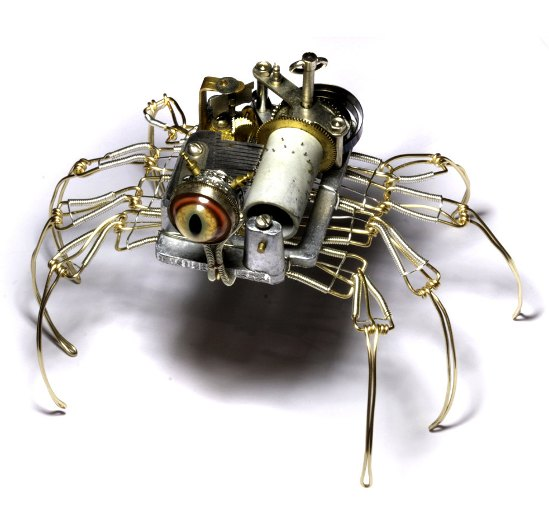 Steampunk Cyclopean Spiders! | RecycleNation