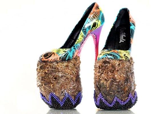 Seven Incredible High Heels Made out of Bizarre Materials ...