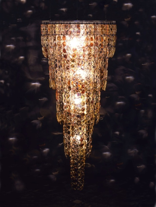 How to make 10 incredible chandeliers created out of everyday junk chandeliers have always been elegant light sources adorning grand dining rooms ballrooms and even the castles of yesteryear repurposing therefore might aloadofball Choice Image