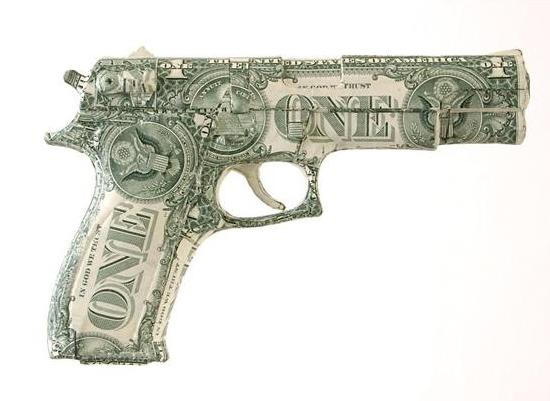 absolute power Weapons of War Made out of Money