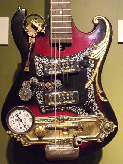 Ten Incredible Steampunk Guitars Recyclenation