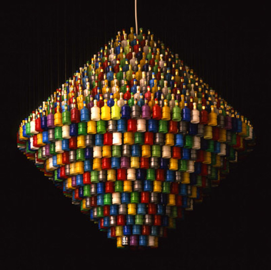 How to make 10 incredible chandeliers created out of everyday junk 10 aloadofball Choice Image