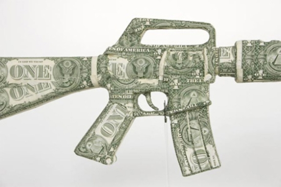 Weapons of War Made out of Money | RecycleNation