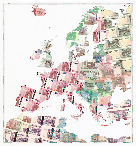 map euro europe Weapons of War Made out of Money